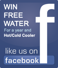 Win free water a year with cooler, like us on Facebook